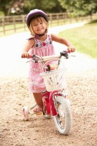 bigstock-Girl-Learning-To-Ride-Bike-Wea-13917401