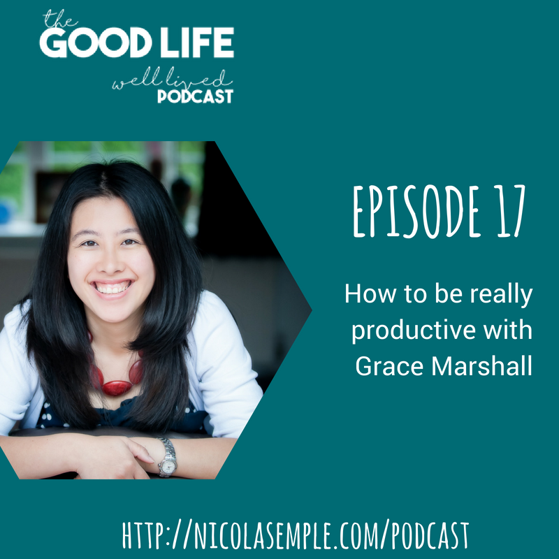017 How to be Really Productive With Grace Marshall