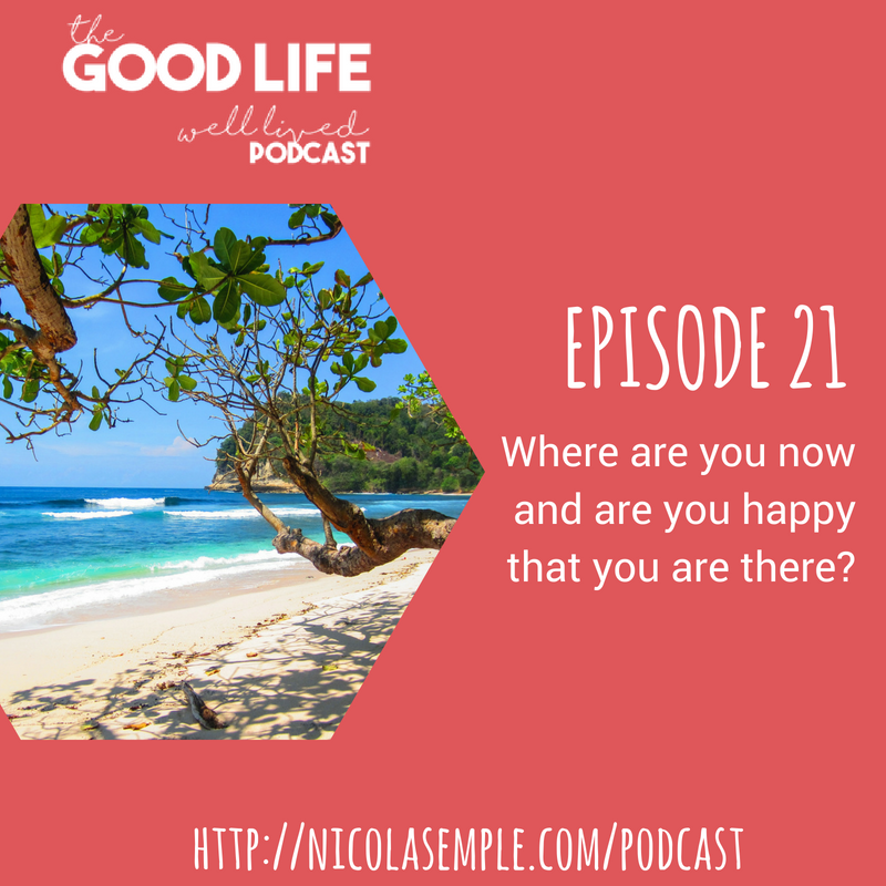 021 Summer Sessions – Where are you now and are you happy that you are there?