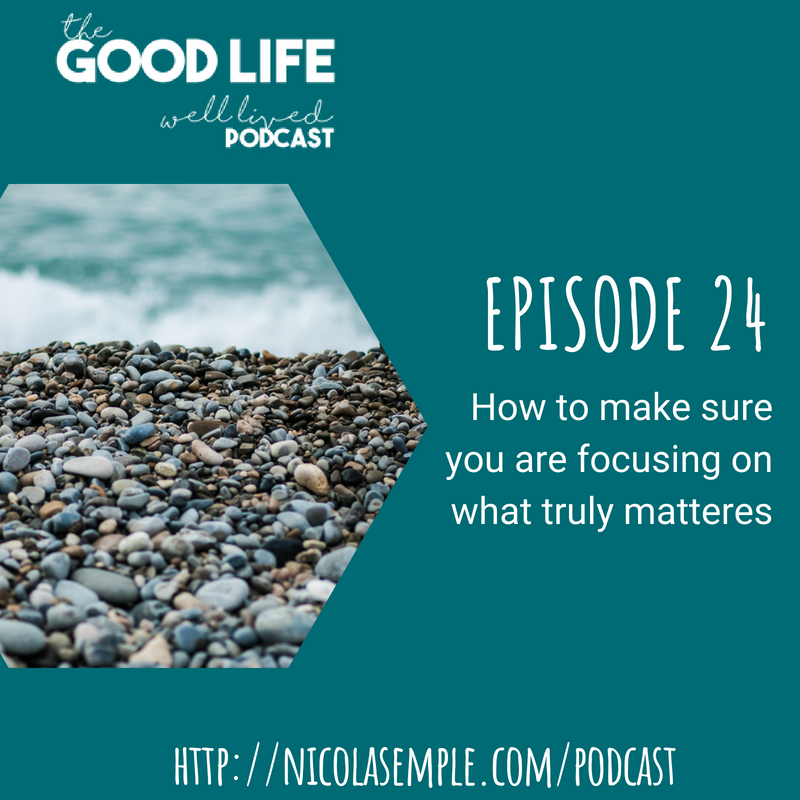 024 – Summer Sessions – How to Make Sure You Are Focusing on What Truly Matters
